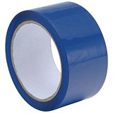 Polypropylene Tape / 50mmx66m / Blue / Pack of 6