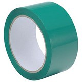 Image of Polypropylene Tape / 50mmx66m / Green / Pack of 6