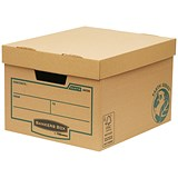 Image of Fellowes Bankers Box Earth Series Budget Storage Boxes - Pack of 10
