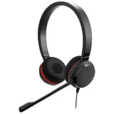 Image of Jabra Voice 550 USB NC Duo Padded Headset Ref 45123