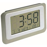 Image of Digital LCD Clock 12/24 Hour Count Down Timer Thermometer
