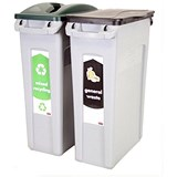 Image of Rubbermaid Slim Jim Recycling Starter Pack