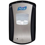 Image of Purell LTX-12 Touch Free Dispenser - Chrome & Black