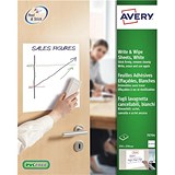Image of Avery Write and Wipe / Square Format A4 Sheets / 70704 / 4 Sheets
