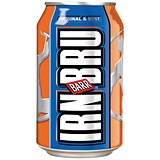 Image of Irn Bru Soft Drink Can 330ml [Pack 24]
