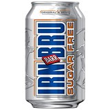 Image of Irn Bru Sugar Free Soft Drink Can 330ml [Pack 24]
