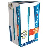 Image of Paper Mate Stick Ballpoint Pen / Blue / Pack of 60