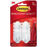 Image of Command Oval Adhesive Hooks / Medium / Pack of 2