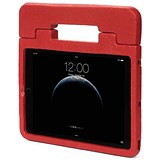 Image of Kensington SafeGrip Rugged Carry Case & Stand For iPad Air - Red