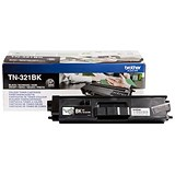 Image of Brother TN321BK Black Laser Toner Cartridge