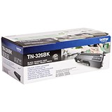 Image of Brother TN326BK High Yield Black Laser Toner Cartridge