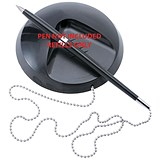 5 Star Desk Pen Refills / Black / Pack of 20