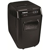 Image of Fellowes AutoMax 200C Professional Shredder 4x38mm Cross Cut 32 Litre P-4 200 Sheets Ref 4652901