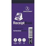 Image of Challenge Carbonless Receipt Duplicate Book / 50 Receipts / 140x70mm / Pack of 10