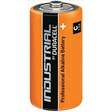 Image of Duracell Industrial Alkaline Battery / 1.5V / C / Pack of 10