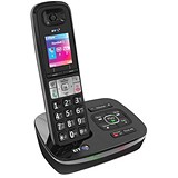 Image of BT 8600 DECT Single Telephone Answer Machine Cordless SMS 200-Entry Directory 30 Redials Ref 54631