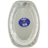 Robinson Young Caterpack Foil Food Platters / Oval / 430mm Diameter / Pack of 3