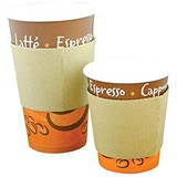 Image of Robinson Young Caterpack Cup Sleeves / Medium / For 227-284ml Cups / Pack of 100