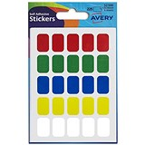 Image of Avery Rectangular Labels / 12x18mm / Assorted / 32-500 / 225 Labels