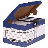 Image of Fellowes Bankers Box Ergo Stor Maxi FastFold Storage Boxes - Pack of 10