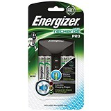 Image of Energizer Pro Battery Charger for 4x AA/AAA Batteries - Includes 4x AA 2000mAh