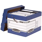 Image of Fellowes Bankers Box Ergo Stor Heavy Duty FastFold Storage Boxes - Pack of 10
