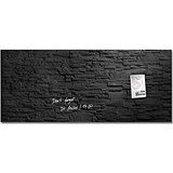 Image of Sigel Artverum Tempered Glass Board / Magnetic / W1300xH550mm / Slate