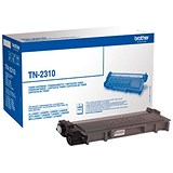 Image of Brother TN2310 Black Laser Toner Cartridge