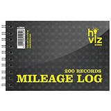 Silvine Mileage Log Book - 50 Pages