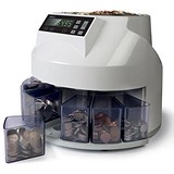 Image of Safescan 1250 EUR Coin Counter and Sorter for Euro Ref 113-0549