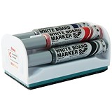 Image of Pentel Maxiflo Drywipe Marker / Bullet Tip / Assorted Colours with Eraser