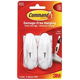Image of Command Adhesive Wire Hook / Medium / Pack of 2