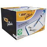 Image of Bic Velleda 1701 Whiteboard Marker / Bullet Tip / Black / Pack of 48