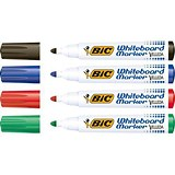 Image of Bic Velleda 1701 Whiteboard Marker / Bullet Tip / Assorted Colours / Pack of 48