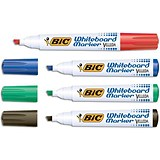Image of Bic Velleda 1751 Whiteboard Marker / Chisel Tip / Assorted Colours / Pack of 48