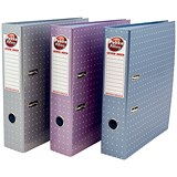 Image of Pukka Metallic A4 Lever Arch Files / Assorted / Pack of 6