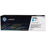 Image of HP 312A Cyan Laser Toner Cartridge