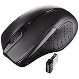 Image of Cherry MW 3000 Five-Button Wireless Mouse / 2.4GHz / Optical / 5m Range / Black