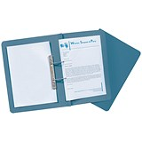 Image of Guildhall Transfer Spring Files 315gsm Capacity 38mm Foolscap Blue Ref 348-BLUZ [Pack 50]