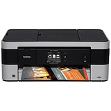 Brother MFC-J4420DW Colour Inkjet Multifunction Printer Duplex Wi-Fi 20ppm A3 Ref MFCJ4420DWZU1
