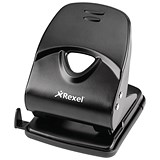 Image of Rexel V240 Value 2-Hole Punch / Black / Punch capacity: 40 Sheets