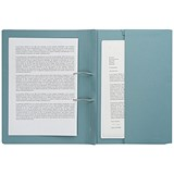 Image of Guildhall Back Pocket Transfer Files / 315gsm / Foolscap / Blue / Pack of 25