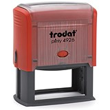 Trodat Printy 4926 Self-Inking Custom Stamp - 72x35mm