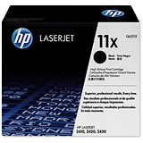 Image of HP 11X Black Laser Toner Cartridge
