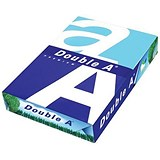 Image of Double A A4 Premium Multifunctional Copier Paper / White / 80gsm / Ream (500 Sheets)