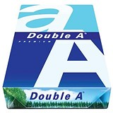 Image of Double A A4 Premium Multifunctional Copier Paper / White / 90gsm / Ream (500 Sheets)