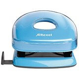 Image of Rexel JOY 2-Hole Punch / Blissful Blue / Punch capacity: 10 Sheets
