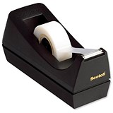 Image of Scotch C38 Magic Tape Desktop Dispenser with 3 Rolls - 19mmx33m