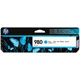 Image of HP 980 Cyan Ink Cartridge