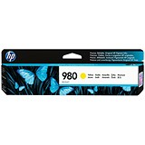 Image of HP 980 Yellow Ink Cartridge